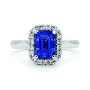 Crown Family Jewellers Tanzanite Diamond Ring
