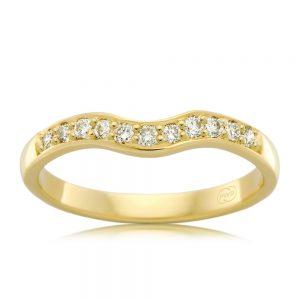Crown Family Jewellers 2 Tone Wedder