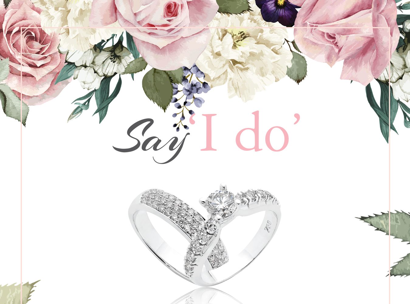 Crown Family Jewellers Say I do