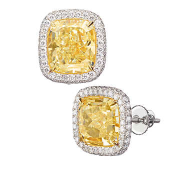 Crown Family Jewellers Guide to buying the perfect diamond earrings