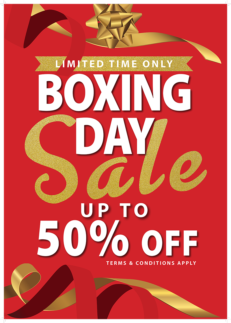 Boxing Day Sales 2019 - Crown Family Jewellers