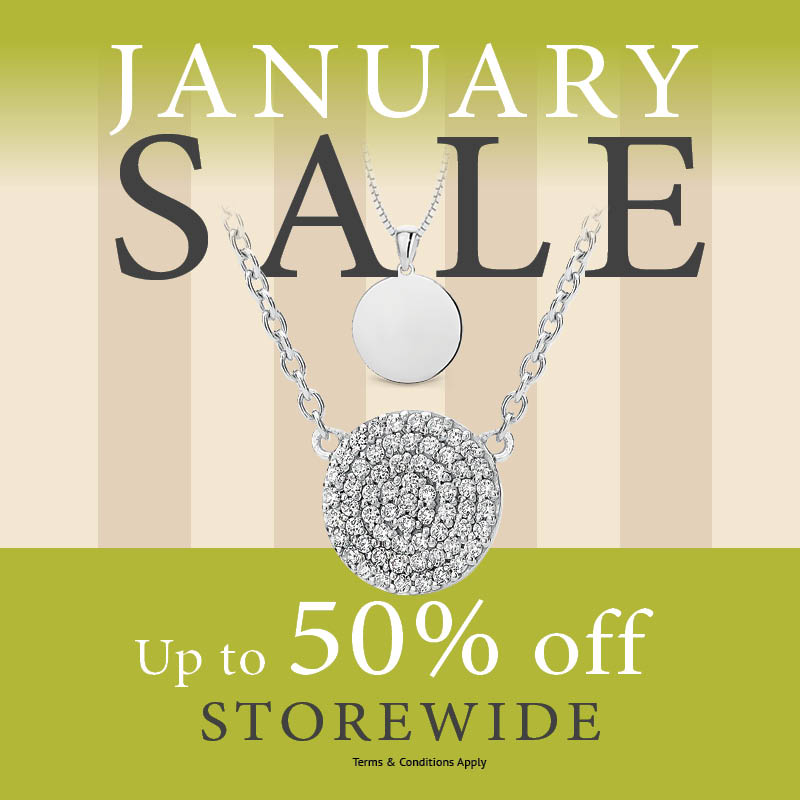 January 2020 Sale - Crown Family Jewellers